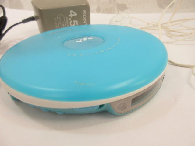 SONY CDウォークマン D-EJ002 ブルー