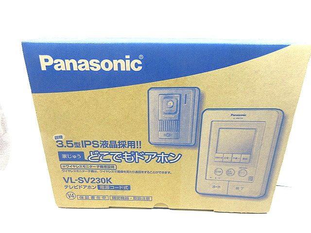 パナソニック テレビドアホンどこでもドアホン VL-SV230K