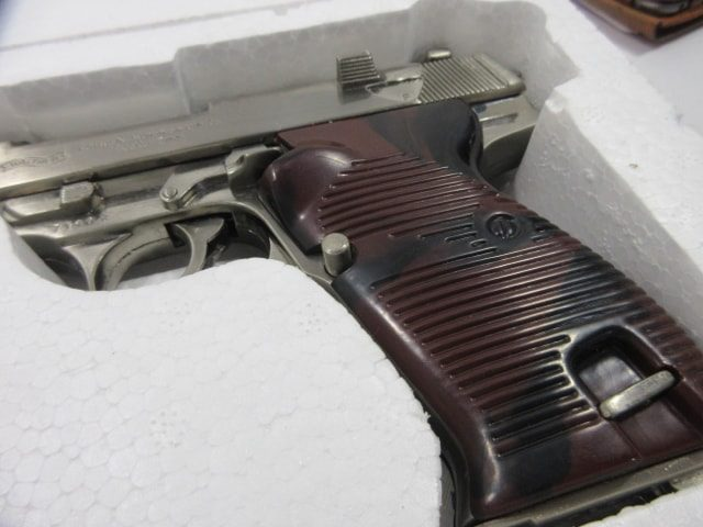 モデルガン・ガスガンセット/ワルサーP38 など4挺