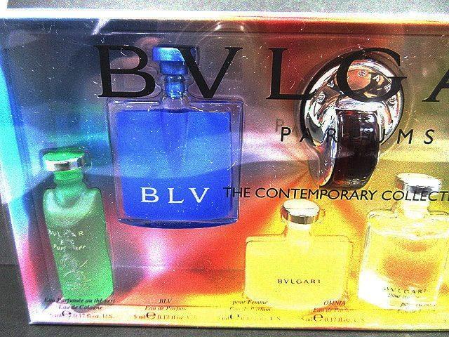 ブルガリ BVLGARI 香水 7点 ミニチュアセット 未使用品