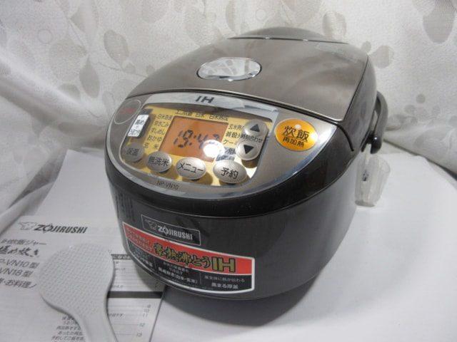 象印 IH炊飯器 極め炊き 5.5合 ブラウン NP-VN10-TA 中古