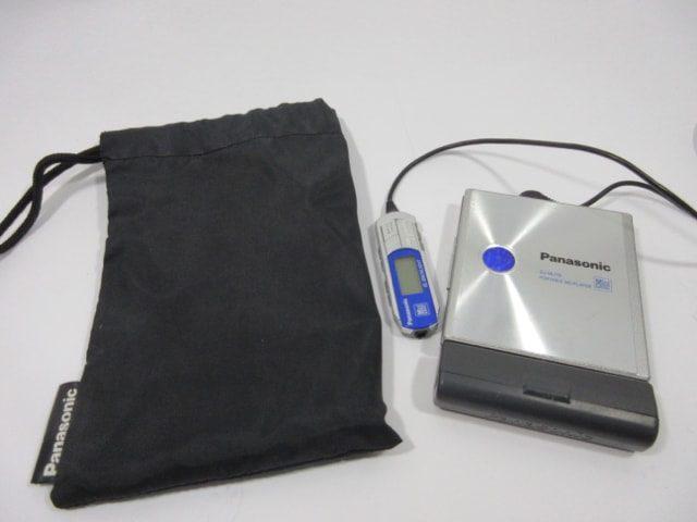 Panasonic SJ-MJ70-S シルバー ポータブルMDプレーヤー 中古
