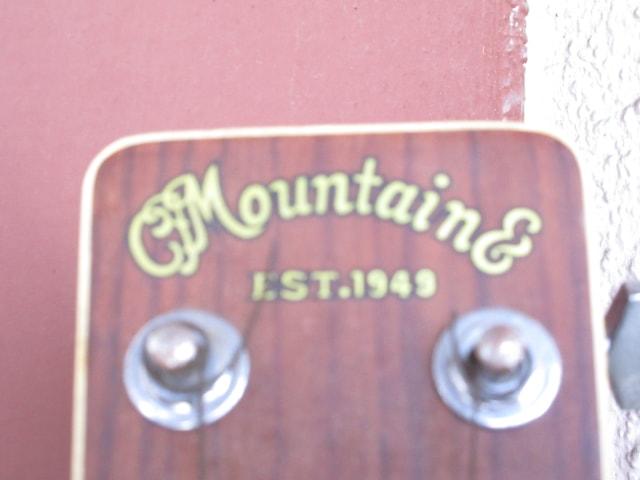 アコースティクギター Montaing マウンテン 中古 破損あり
