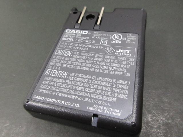 CASIO デジタルカメラ EXILIM BC-30L リチウム急速充電器 純正