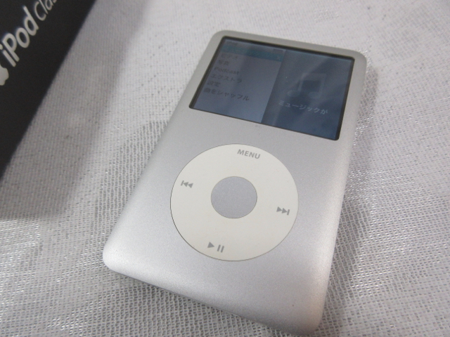 Apple iPod classic 80GB シルバー MB029J/A 中古