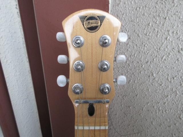 Pignose ピグノーズ エレキギター ピンク ソフトケース付