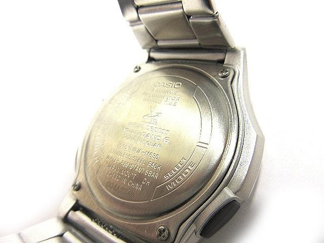 カシオ CASIO ソーラー時計 ウェーブセプター WVA-M630D-7AJF